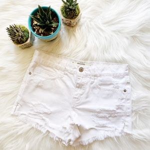Abercrombie & Fitch Distress Shorts
